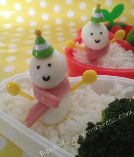 Quail Egg snowman