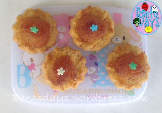 Pineapple tarts for Chinese New Year, using ready made pineapple jam and home made pastry