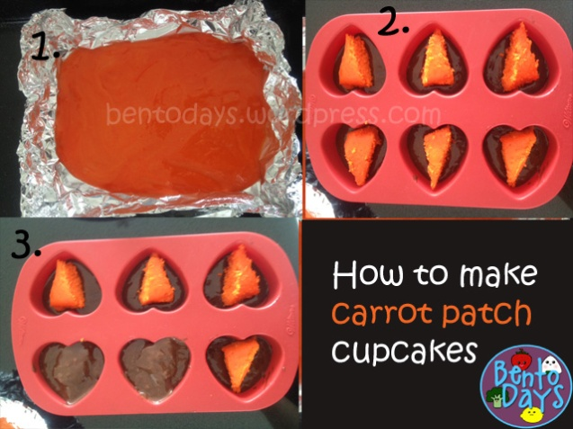 how to make carrot patch cupcakes or cakes for easter, great party idea!