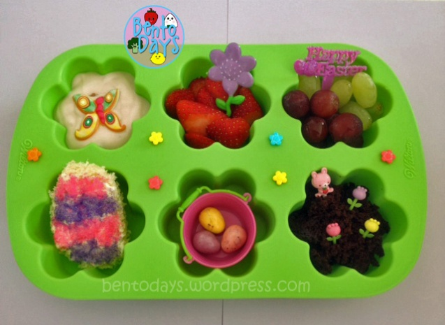 Cute Easter lunch for kids - ideas for spring lunch bento and Easter bento lunch