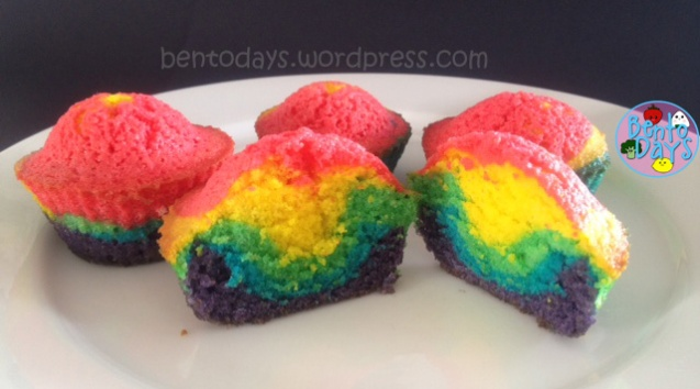 How to make fun, easy rainbow cupcakes for kids parties or St Patricks Day