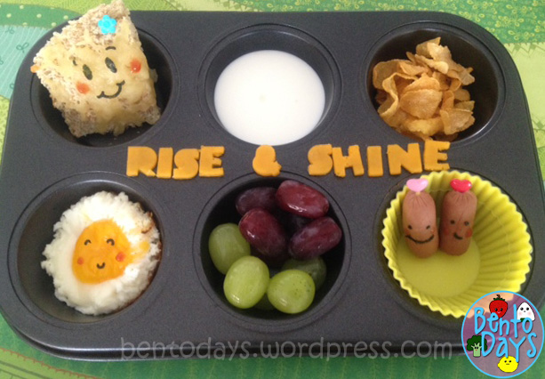 breakfast in a muffin tin for kids breakfast, quick, easy bento preparation