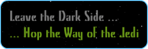 Leave the Dark Side to Jedi Way blog hop