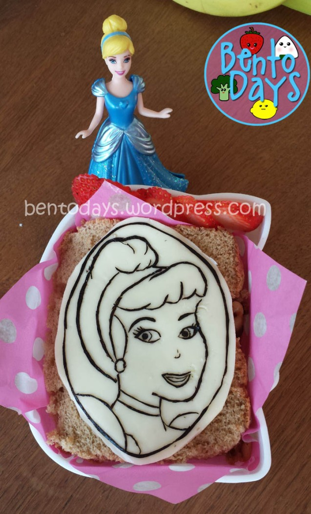 Cinderella bento   Bento Days