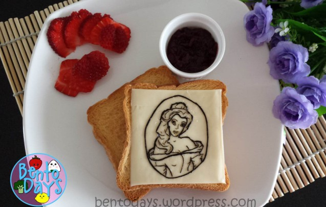 Disney Princess Belle (Beauty and the Beast) Bento