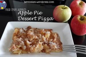 Apple Pie Dessert Pizza | Bento Days