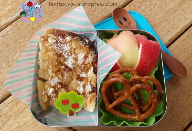 Apple Pie Pizza Bento | Bento Days