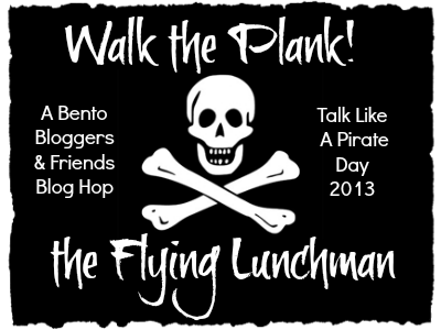 Talk Like A Pirate Day Bento Blog Hop