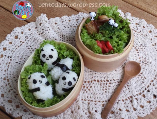 Panda Onigiri Bento | Bento Days