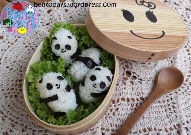 Panda Onigiri | Bento Days