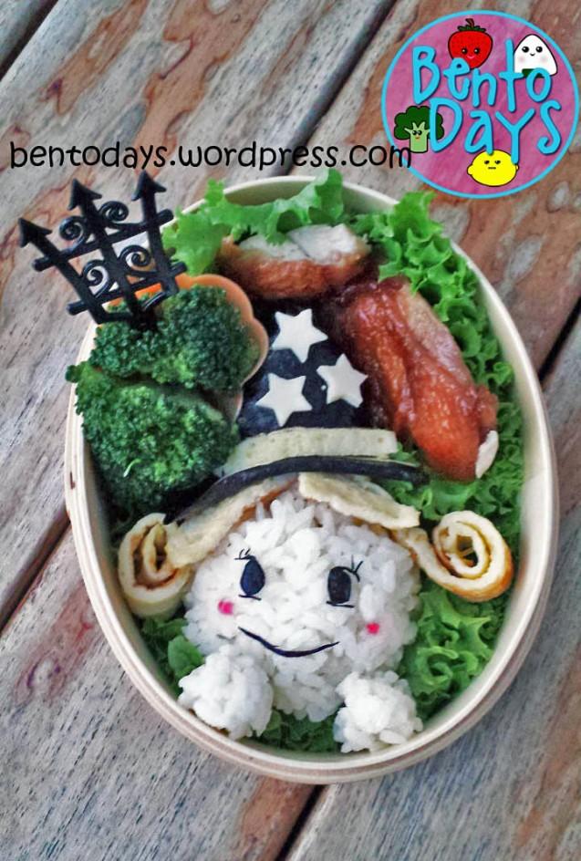 Halloween Witch Bento | Bento Days