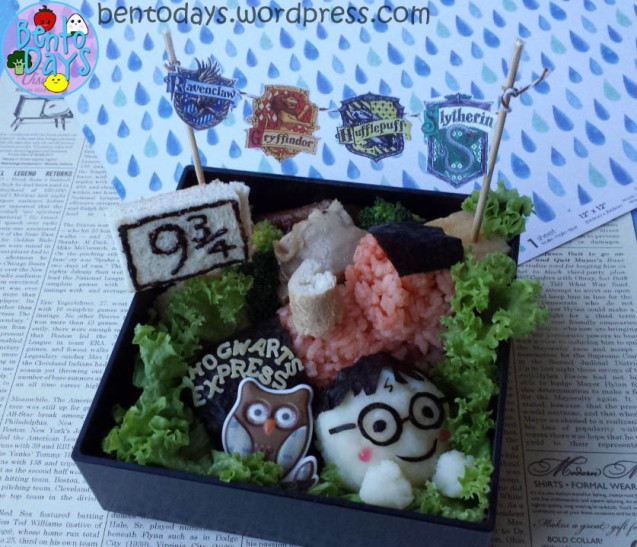 Harry Potter Bento | Bento Days
