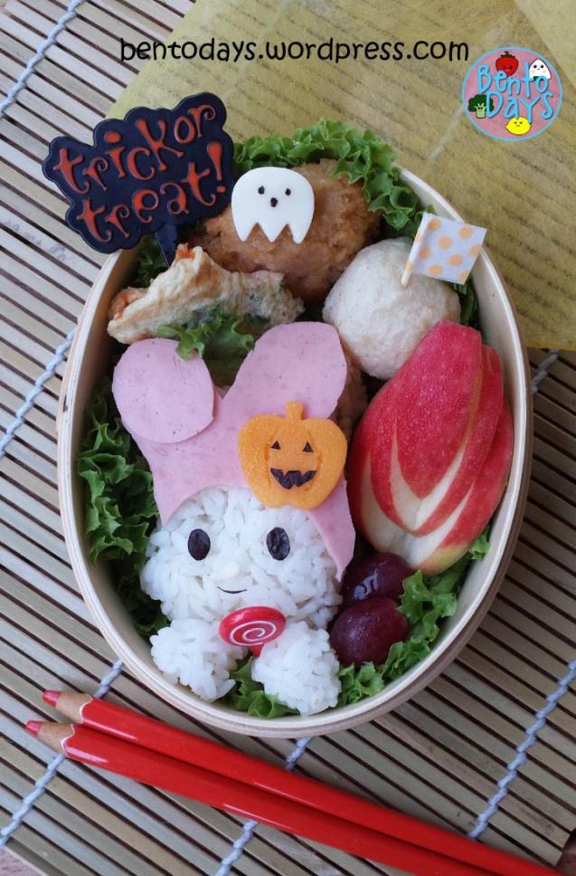 Halloween Bento: My Melody Trick or Treat   Bento Days