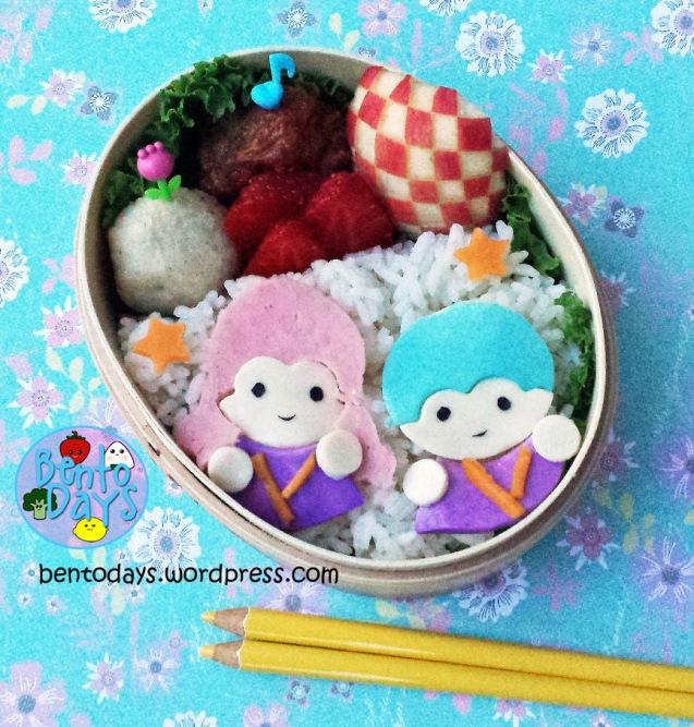 Little Twin Stars Bento | Bento Days