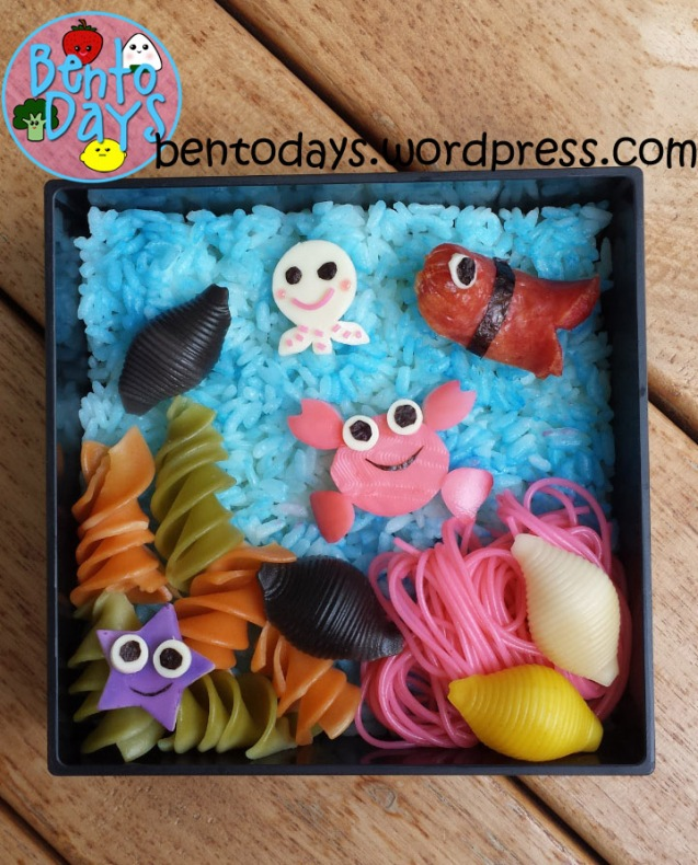Food Art: Under the Sea Bento | Bento Days