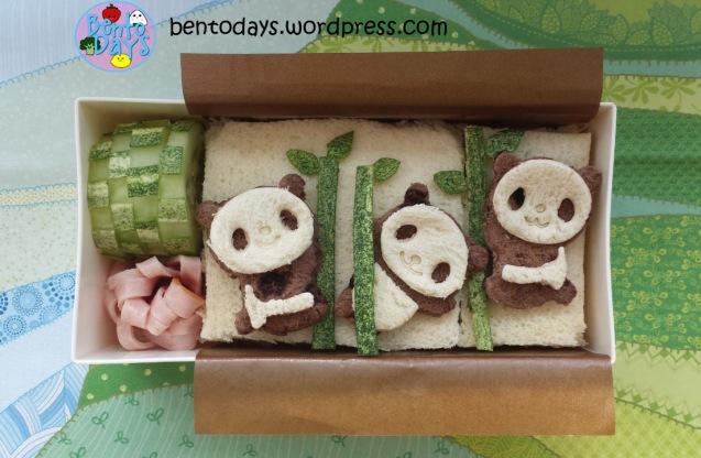 Panda bento | Bento Days