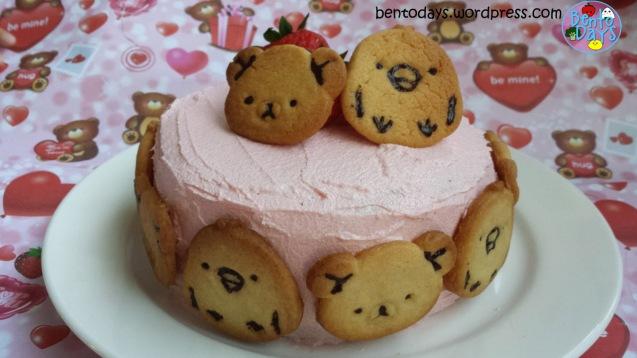 Rilakkuma cookie cake | Bento Days