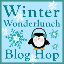 Winter Wonderland bento hop
