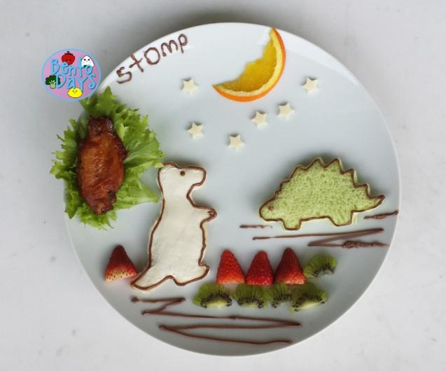 Dinosaur food art | Bento Days