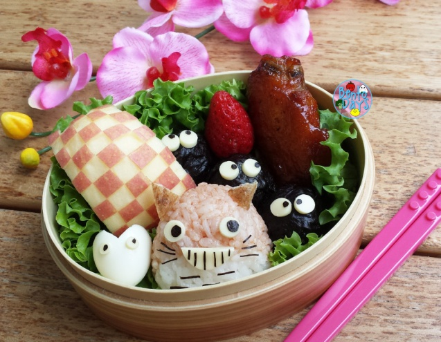 Totoro bento   Bento Days