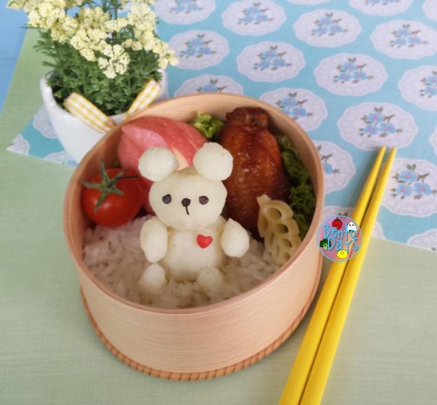 Teddy bear bento   Bento Days