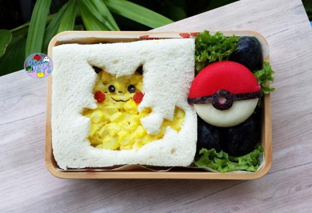 Pikachu Pokemon bento | Bento Days