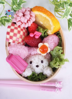My Melody Ice Cream bento | Bento Days