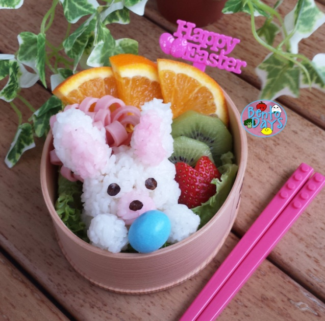 Easter bunny bento | Bento Days
