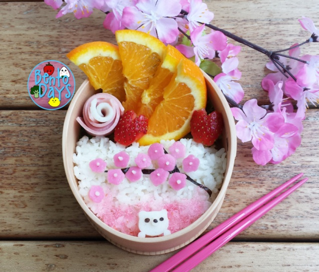 Sakura viewing bento | Bento Days