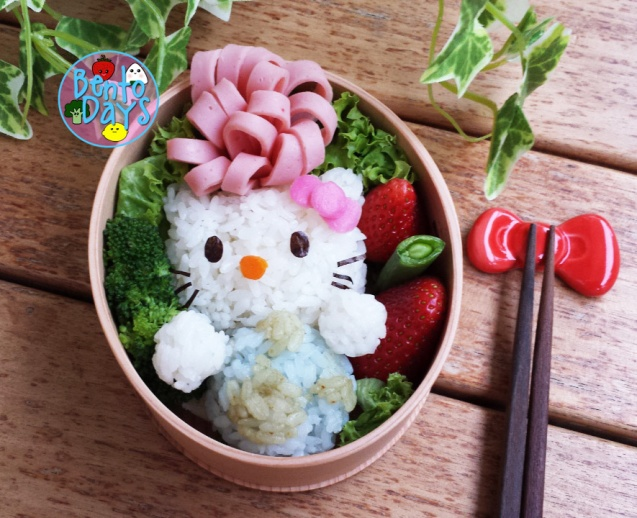 Hello Kitty Earth Day bento | Bento Days