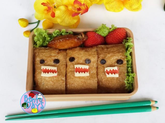 Domokun sushi bento | Bento Days