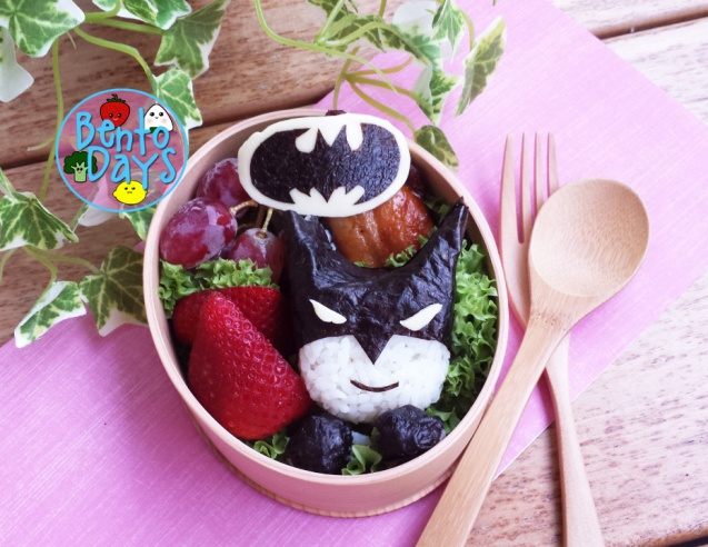 Batman superhero bento | Bento Days