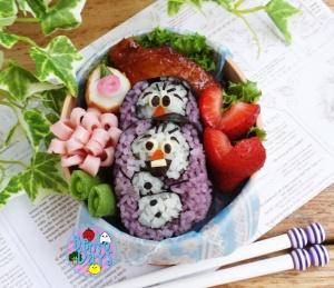 Olaf sushi bento | Bento Days