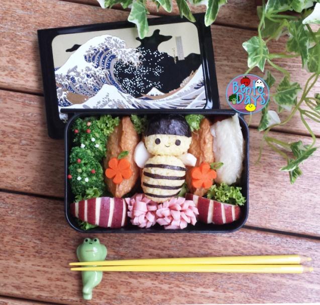 Bumblebee sushi bento | Bento Days