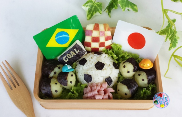 World Cup soccer bento | Bento Days