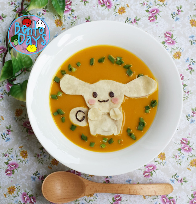 Cinnamoroll Pumpkin Soup | Bento Days