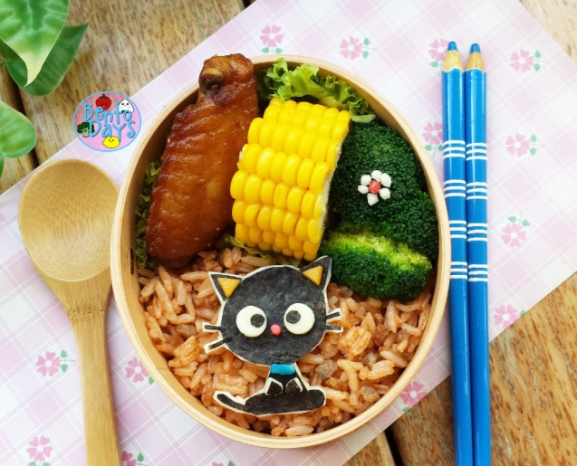Chococat bento | Bento Days