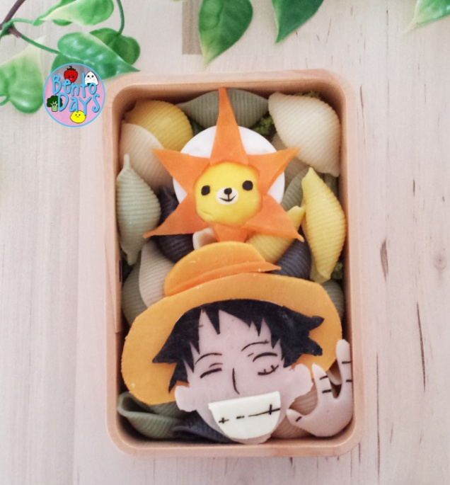 One Piece Luffy bento | Bento Days