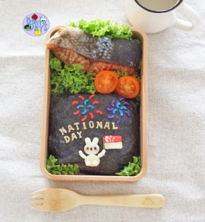 National Day bento | Bento Days