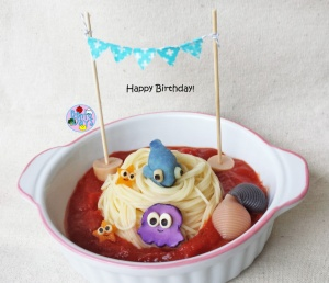 Birthday bento and birthday food art | Bento Days