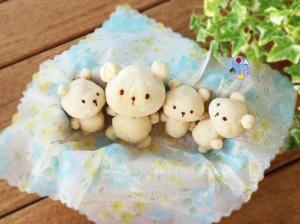 Teddy bear bread | Bento Days
