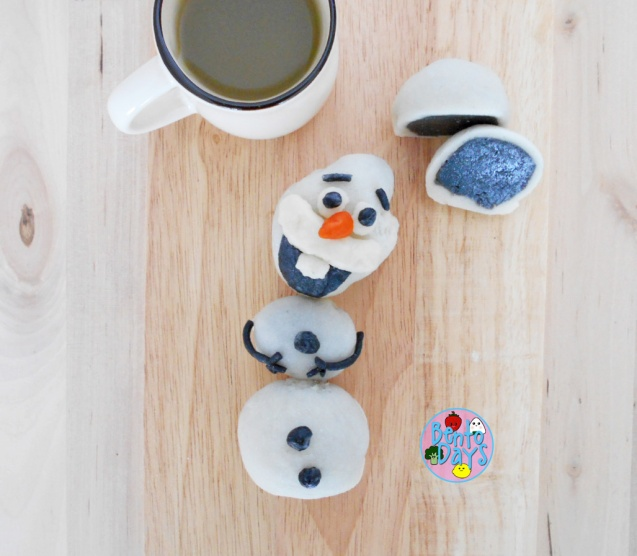 Cute Olaf Snowskin Mooncake | Bento Days