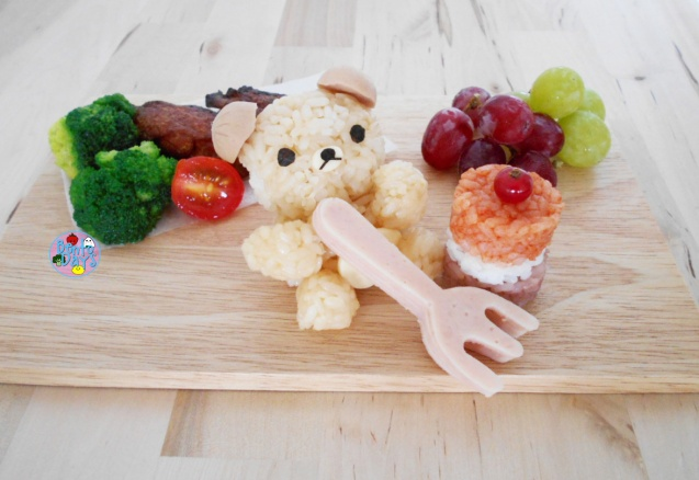 Rilakkuma Teatime Food Art Bento | Bento Days