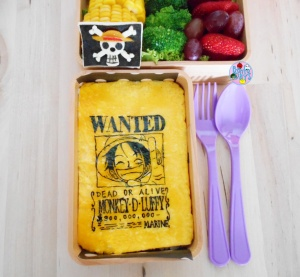 One Piece Luffy bento