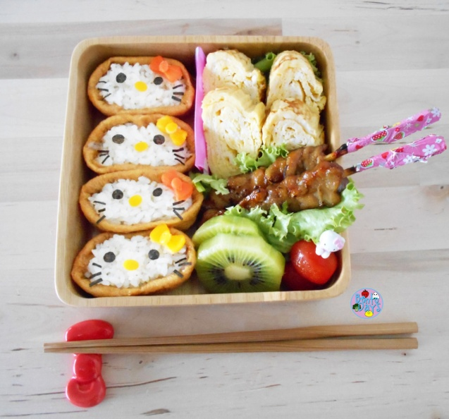 Hello Kitty Sushi bento
