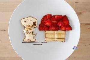 Snoopy food art bento