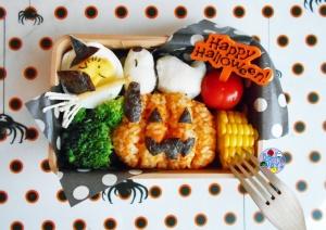Snoopy Halloween Bento