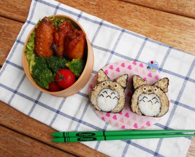 Totoro Deco Sushi bento