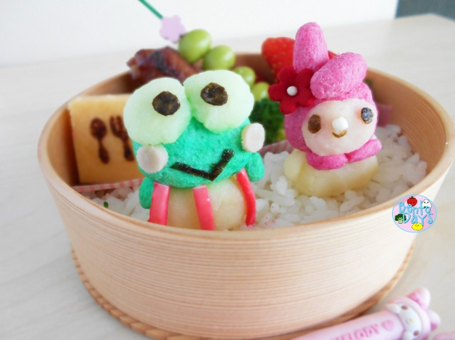 My Melody and Keroppi Bento