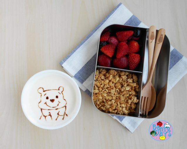 Winnie the Pooh breakfast bento